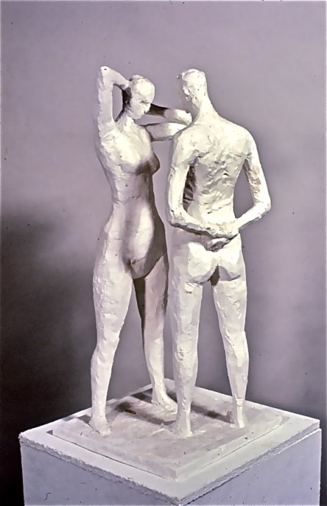 Couple, 1979, Plaster