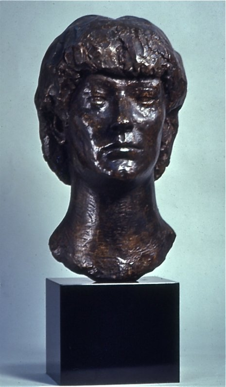 Monique, 1979, Painted Plaster