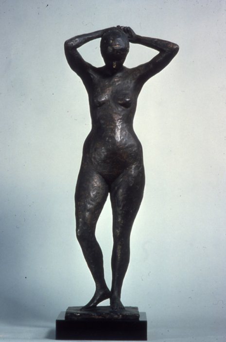 Small Figure Study Liz, 1979, Bronze
