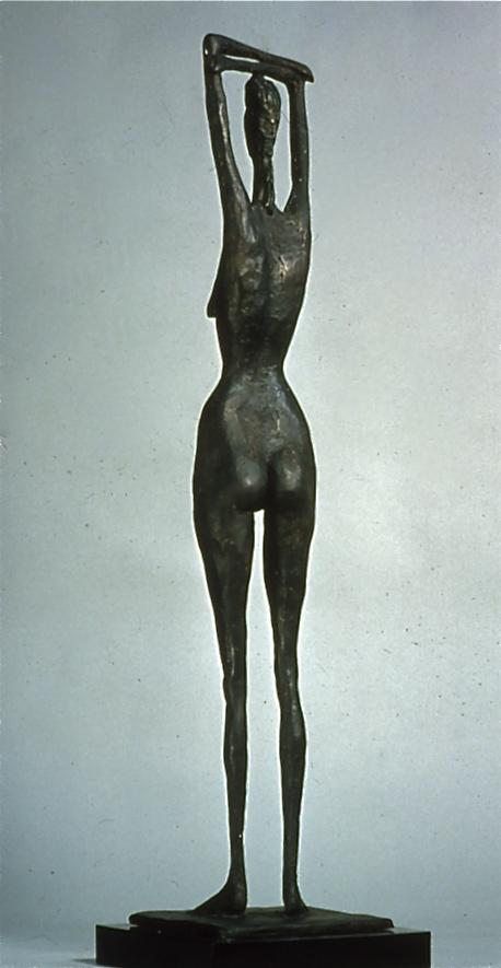 Tall Figure Study, 1979, Bronze