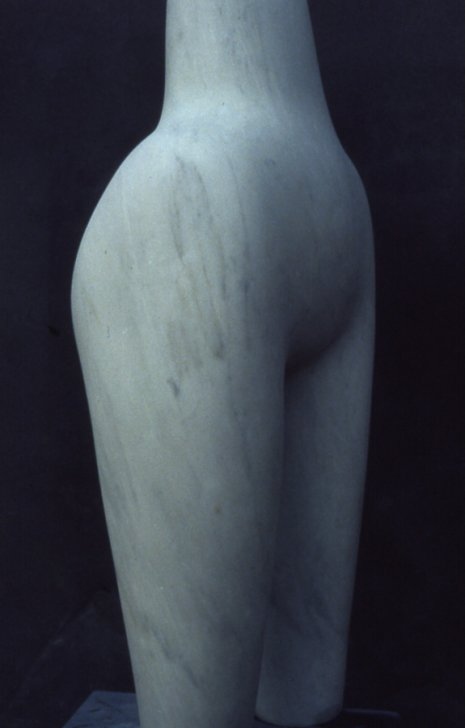 Marble Torso, 1980, Marble