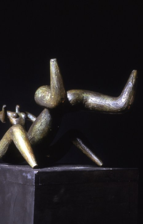 Fallen Centaur Model, 1986, Bronze