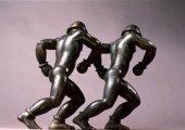 Tete a Tete, 1992, Bronze
