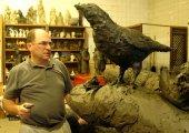 No Bird Soars, 2010, Clay Model