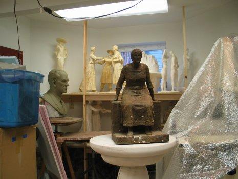 Elizabeth Cady Stanton Memorial Model
